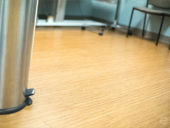 Hard Floor Maintenance - Our strip and finish crew uses nothing but the finest finish at no additional charge.